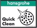 hansgrohe QuickClean tehnologija jednostavnog čišćenja