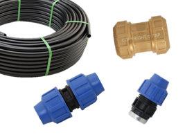 PE-HD alkaten cijevi i spojnice